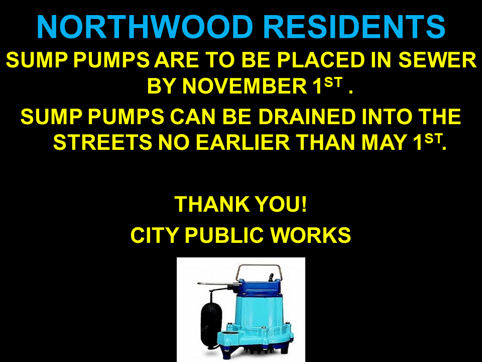 northwood nd oct 2019 notice